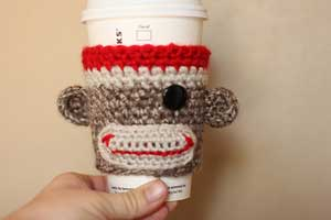 Sock-Monkey-Coffee-Cozy