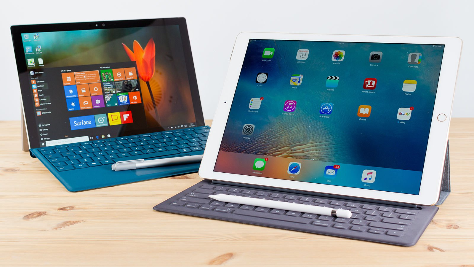 Microsoft Surface Pro vs. Apple iPad Pro